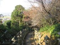 仏舎利塔への参道.jpg